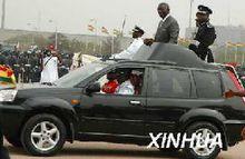 阿克拉举行的加纳独立五十周年庆典