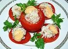 蟹腿番茄沙拉