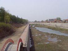 受污染的小南河