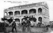 当时入侵广州湾的法国兵。