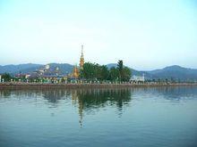 远眺孟连县