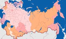 1914年俄罗斯的行政区划