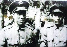 何基沣(右)与张克侠