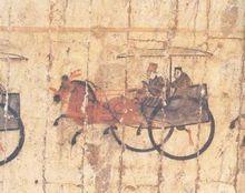 安平逯家庄汉墓壁画