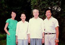 姜椿芳与家人