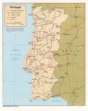 葡萄牙地图