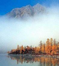 横断山脉里的云雾