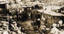 大萧条期间美国穷人居住的贫民窟