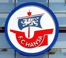 罗斯托克足球俱乐部队徽