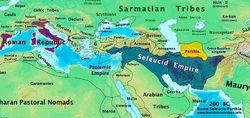 前200年西方各国疆域