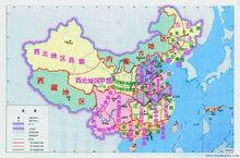 地理区划图