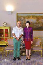徐峥和泰国英拉总理