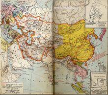 11世纪蒙古人统治的地区