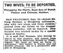 纽约时报1908年报道何东生父是荷兰人