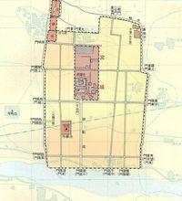 北魏洛阳城平面图