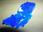 五水硫酸铜晶体