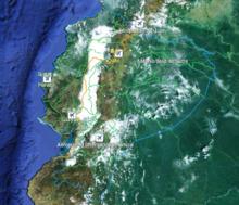 厄瓜多尔地图-最新erlinyou版