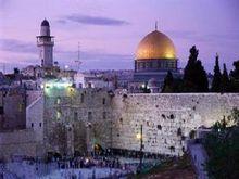 该图为圣殿山,耶路撒冷