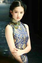 刘亦菲旗袍照