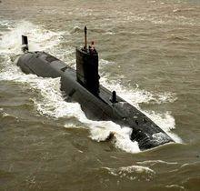 """英国""""机敏""""级攻击型核潜艇"""
