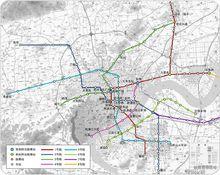 杭州地铁规划图