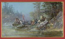 远征队探险途中