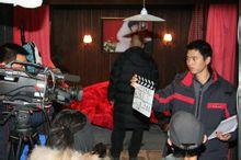 《中国家庭》拍摄现场