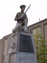 一个位于都柏林的英爱战争纪念碑
