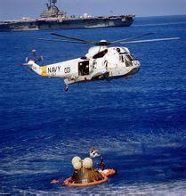 阿波罗17号返回后的救援