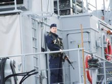 卡尔斯克鲁纳军港 军舰