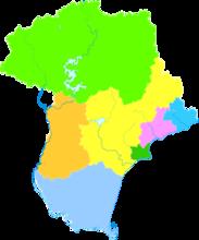 秦皇岛行政区划图