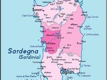撒丁岛政区