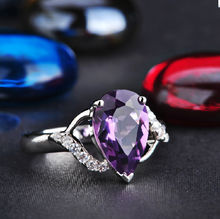 水晶戒指饰品