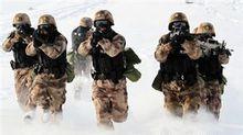 中国新疆军区反恐特战部队